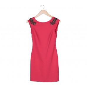 Zara Pink Beaded Mini Dress