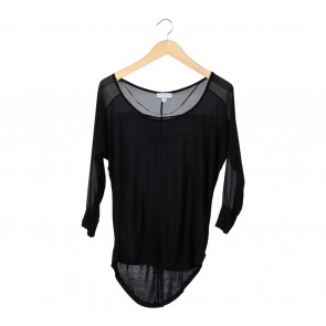Cotton On Black Combi Blouse