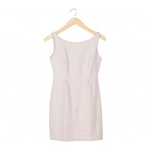 Shop At Velvet Cream Sleeveless Mini Dress