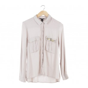 H&M Cream Shirt