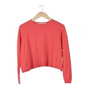 Zara Orange Sweater