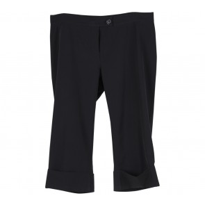 Benetton Black Cropped Pants