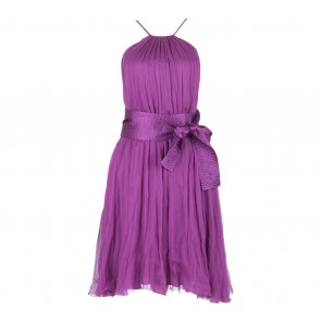 Catherine Malandrino Purple Sleeveless Mini Dress