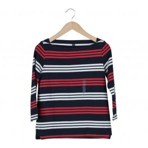 UNIQLO Multi Colour Striped Blouse