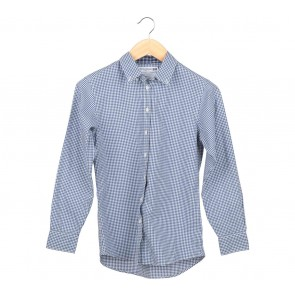 UNIQLO  Blue Plaid Shirt