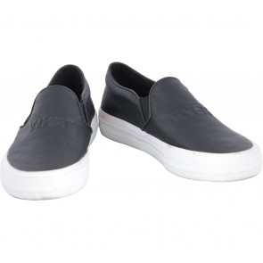 Pull & Bear Black Slip On Sneakers