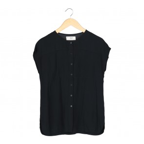(X)SML Black Blouse