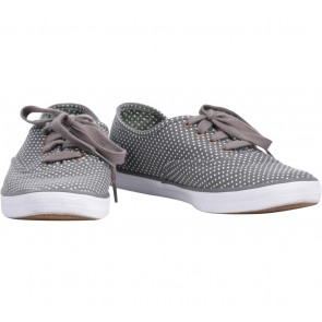 Keds Grey Polka Dot Sneakers