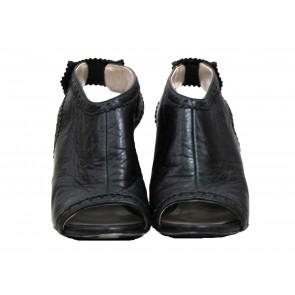 Balenciaga Black Wedges