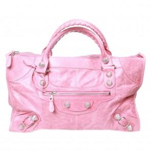Balenciaga Pink Tote Bag