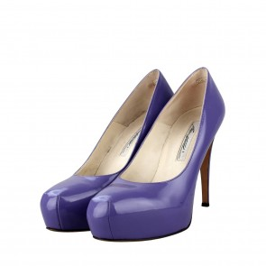 Brian Atwood Purple Heels