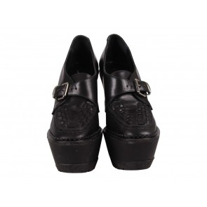 Burberry Prorsum Black Wedges