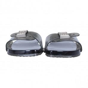 Chanel Grey Sandals