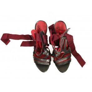 Lanvin Black Sandals