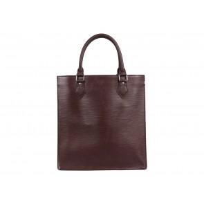 Louis Vuitton Brown Epi Leather Sac Plat Tote Bag