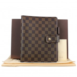 Louis Vuitton Brown Large Ring in Darnier Agenda Cover