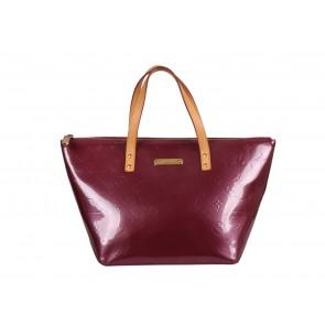Louis Vuitton Maroon Tote Bag