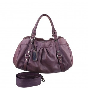 Marc By Marc Jacobs Purple Classic Q Workwear Shoulder Bag