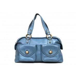 Marc Jacobs Blue Bowling Shoulder Bag