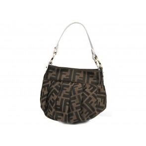 Fendi Brown Monogram Shoulder Bag
