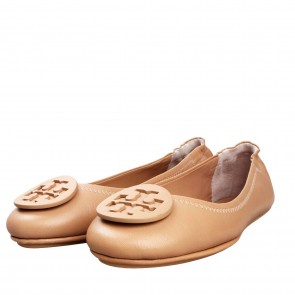 Tory Burch Light Green Flats