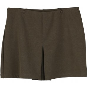 Express Dark Green Short Skirt