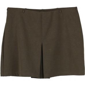 Express Dark Green Short Skirt