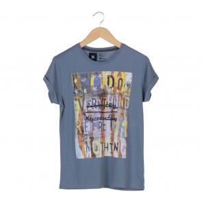 Penshoppe Blue T-Shirt