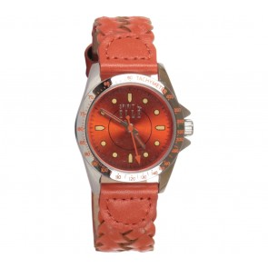 Elle Orange Woven Watch
