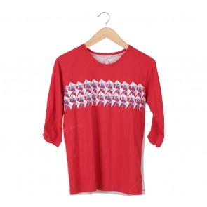 Penshoppe Red T-Shirt