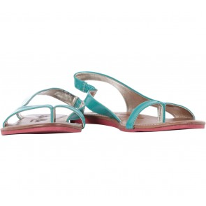 Stefania Baldo Green Sandals