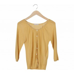 Elle Yellow Cardigan