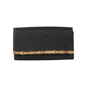 H&M Black Bamboo Clutch