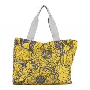 Tulisan Yellow Floral Tote Bag