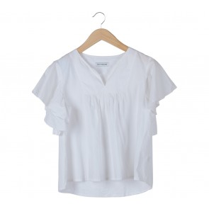 Cotton Ink White Blouse