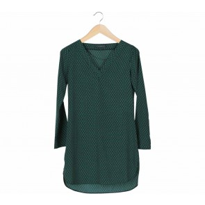 Suite Blanco Green Mini Dress