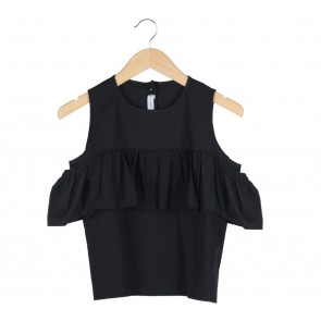 Tinkerlust Black Off Shoulder Blouse
