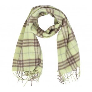 Burberry Green Plaid Scarf