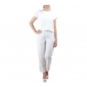 Tinkerlust White Layer Jumpsuit
