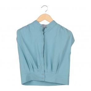 Maven ID Blue Blouse