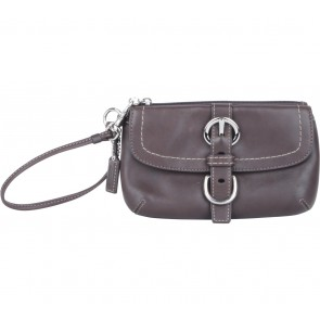 Coach Dark Brown Pouch