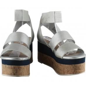 Steve Madden Silver Sandals