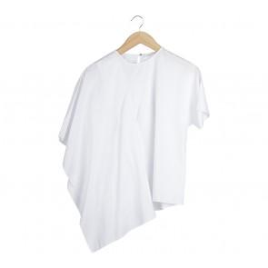 Shop At Velvet White Asymmetric Blouse