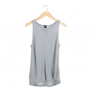 Pull & Bear Grey Sleeveless