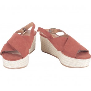 H&M Brown Sandals Wedges