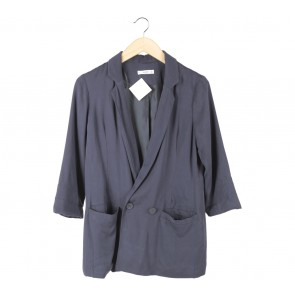 Mango Dark Blue Blazer