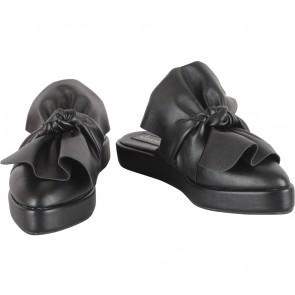 Shoe Corner Black Sandals