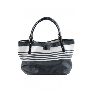 Kate Spade Black and White Tote Bag