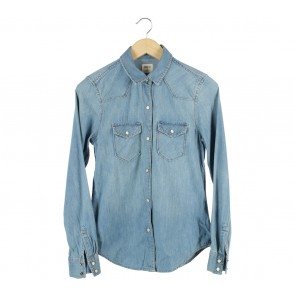 GAP Blue Denim Shirt