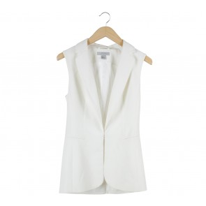 H&M Off White Vest
